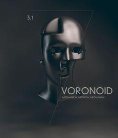 #human #evolution #voronoid #nastplas #physical #metaphysical #humanity #technology #future #art #beauty #machines #3d