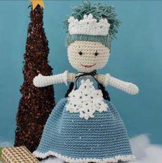 1500 Free Amigurumi Patterns: Winter Princess Lily Doll