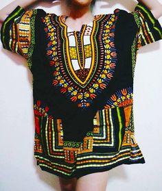 African Shirt Dashiki Shirt Tunic fashion by sujitrabkkshop