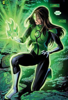 Green Lantern Jessica Cruz in Green Lanterns # 6 - Art by Will Conrad & Jack Herbert