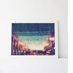 Large Photographic Print - Starry Night
