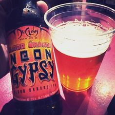 Blood Orange Neon Gypsy by DuClaw Brewing Company - fruity rind sweetness prevents this beer from finishing too dry  #DuClaw #bloodorange #ipa  #craftbeer #craftbeerporn #beer #beerstagram #beertography #instabeer #beernerd #beerpic #fanaticbeer #beerme #goodbeer #beergasm #iheartbeer #craftnotcrap #untappd #craftbeer