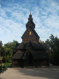 Iglesia de madera de Gol. Oslo