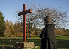 the Cross in the cemetery of Sancta Maria Abbey in Nunraw.