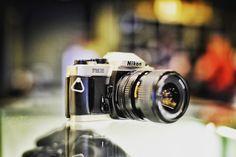 Nikon FM10  #film #analog #filmisnotdead #filmnotpixels #vintage #camera #classic #bokeh #austin #atx #mediumformat #120mm #35mm #kodak #portra #fuji #ilford