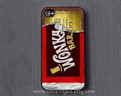 Wonka chocolat iPhone Case couverture de l'iphone par LittleVogue, $9.99