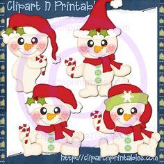 Lil Frosty Santa Red