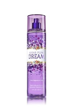 SUGAR PLUM DREAM - FINE FRAGRANCE MIST - Bath & Body Works - Lavishly splash or lightly spritz your favorite fragrance, either way you'll fall in love at first mist! Our carefully crafted bottle and sophisticated pump delivers great coverage while conditioning aloe mist nourishes skin for the lightest, most refreshing way to fragrance!