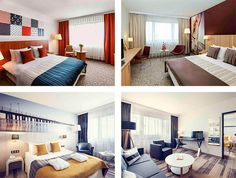 Guest rooms in the Mercure Gdynia Centrum