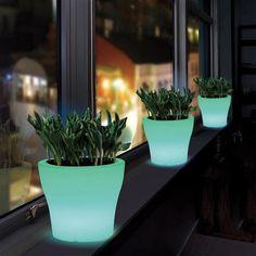 Kent Collection LED Plant Pot