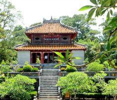 Un temple à Hué.