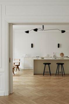 Modern Kitchen Design, Modern Interior Design, Interior Styling, Modern Kitchens, Minimalist Kitchen, Minimalist Scandinavian, Scandinavian Living, Modern Minimalist, Scandinavian Design