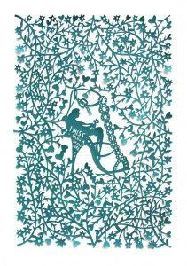 Robert Ryan ... cut paper artist extrordinaire