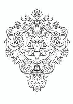 20 Lotus Flower Mandala Coloring Pages Mandala Coloring Pages, Colouring Pages, Coloring Books, Lotus Flower Mandala, Lotus Flowers, Tattoo Foto, Printable Adult Coloring Pages, Lotus Tattoo, Adult Coloring Pages