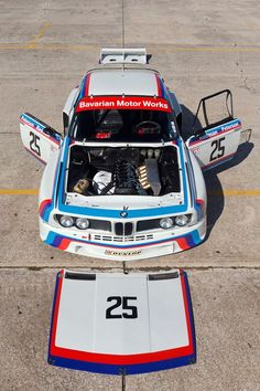 BMW 3.0 CSL e9 | BMW art car | BMW E9 | E9 | BMW | Bimmer | BMW NA | BMW USA | art cars: