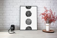 Minimalist geometric circle wall art | Minimalistic art print | Modern wall art poster | Abstract art print | Ink wall decor | Wall hanging Geometric Circle, Zen Art, Surface Pattern Design, Modern Wall Art, Giclee Print, Abstract Art, Minimalist, Wall Decor, Ink