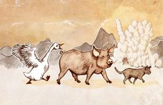Animals searching for Igor and his eggshell palace Eggshell, Searching, Palace, Moose Art, Illustration, Animals, Animales, Egg Shell, Animaux