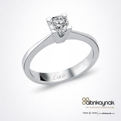 #Altınkaynak - #Mücevher - #Pırlanta - #Altın - #Yüzük #Diamond - #Gold - #Ring Diamond Solitaire Rings, Ring Designs, Engagement Rings, Jewelry, Fashion, Rocks, Rings, Jewels, Enagement Rings