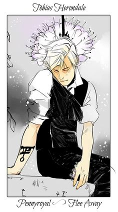 Tobias Herondale - Pennyroyal (Flee Away): Cassandra Jean: Shadowhunter Flowers Series: *Character belongs to Author Cassandra Clare and her Tales from the Shadowhunter Academy Cassandra Jean, Cassandra Clare Books, Fanart, Clary Et Jace, Jace Lightwood, Shadowhunter Academy, Cassie Clare, Shadowhunters The Mortal Instruments, The Dark Artifices