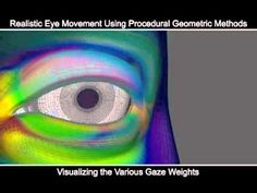 Realistic Eyes Using Procedural Geometric Methods - YouTube