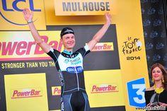 Your stage 9 winner, Tony Martin (Omega Pharma - Quick Step)
