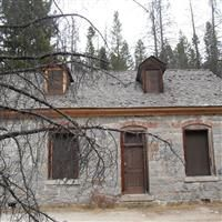 OCT 29, 2013 Granite Ghost Town The wind was picking up.  Leaves swirled ...