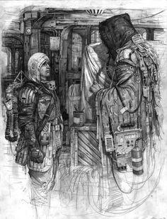 Degenesis scene by HenrikBolle