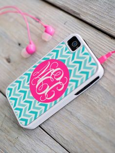 iPhone 5/5S Monogrammed Case – Duo Boutique