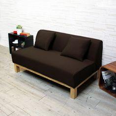 H&D 東加利木質雙人厚片布沙發-三色可選(SH1/S527B)專人送到府/簡易組裝