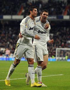 Gonzalo Higuain and Cristiano