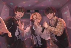 Vkook Fanart, Fanart Bts, Bts Bangtan Boy, Bts Taehyung, Jhope Bts, Jikook, K Pop, Angel Meme, Bts Maknae Line