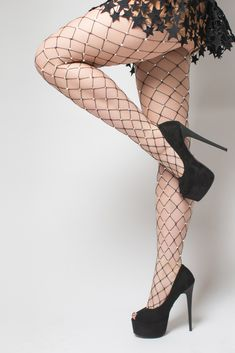 Crystallized white thigh high athletic socks with black Fishnet Tights, Fishnet Stockings, Black Tights, Sexy Lingerie, Stockings Outfit, Dress With Stockings, Fish Net Tights Outfit, Beautiful Young Lady, Boots