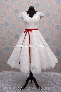 I can't decide!!  Strapless or one like this???  wedding dress bridal 1950s short style vintage 1960 50s   eBay