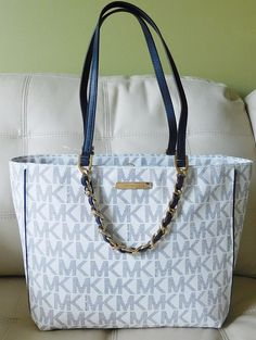 6156b63fdb18 Buy navy blue and white mk bag   OFF60% Discounted