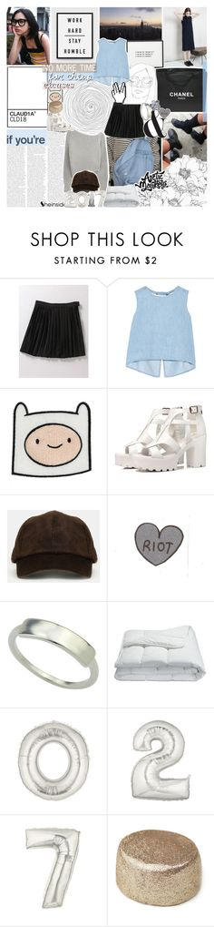"""""""i don't even know what love is"""" by kristen-gregory-sexy-sports-babe ❤ liked on Polyvore featuring Alexander Wang, Chanel, Steve J & Yoni P and Frette"""