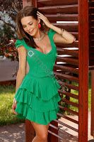 rochie-de-vara-scurta-6 Floral, Casual, Dresses, Fashion, Tulle, Vestidos, Moda, La Mode, Florals