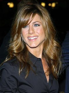 Medium Hairstyles for Women Over 40 with Coppy Bangs
