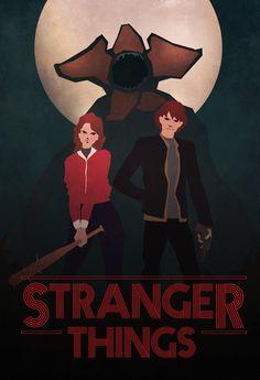 Stranger Things - Nancy Wheeler, Jonathan Byers