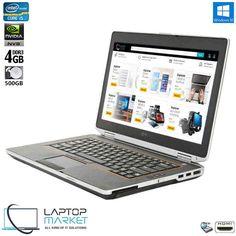 Dell Latitude E6420 Intel i5 4GB RAM 500GB HDD DVD-RW VGA HDMI Win10 Memory Storage, Dell Laptops, Dell Latitude, Card Reader, Hdd, Windows 10, Core
