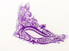 Purple Masquerade Ball Mask with Rhinestones for Women DOLLAR SHIPPING by HigginsCreek on Etsy https://www.etsy.com/listing/213500107/purple-masquerade-ball-mask-with