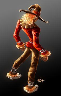 Scarecrow by Erik Von Lehmann