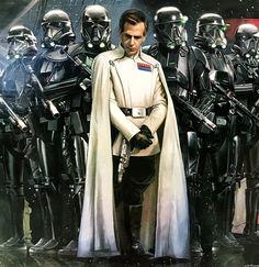 Krennic and his Death Troopers Star Trek, Star Wars Art, Director Krennic, Sith Warrior, Star Wars The Old, Star Wars Concept Art, Star Wars Droids, Star Wars Costumes, Star Wars Images