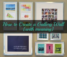 Craft Room Gallery wall #gallerywall @infarrantly