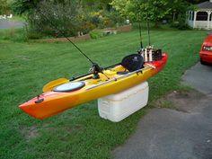 X Wing, Kayak Rod Holder, Rod Holders, Kayak Fishing, Kayaking, Outdoor Power Equipment, Jay, Fishing, Kayaks