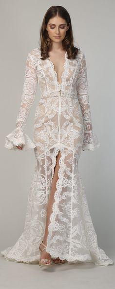 Non Strapless Wedding Dress - White Runway #bridal #bridalgown #weddingdress #weddings #weddingstyle #fashionistas #bride #weddinggown #bridetobe