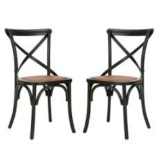 Image result for x back chair espresso