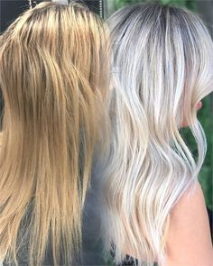 MAKEOVER: Blah Blonde To Bright Ice - Hair Color - Modern Salon