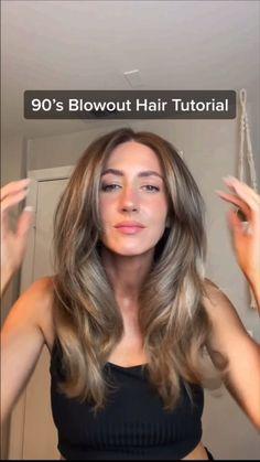 Hair Tips Video, Hair Videos, Medium Hair Styles, Curly Hair Styles, Hair Medium, Blowout Hair Tutorial, Aesthetic Hair, Looks Style, Gorgeous Hair
