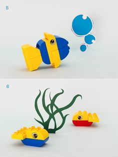 How to turn a few LEGO® DUPLO® bricks into your own DIY educational toy or game for your toddler or preschooler to help them develop early childhood skills Lego Basic, Lego Duplo Games, Lego Activities, Lego Friends, Lego Therapy, Custom Puppets, The Ocean, Lego Wall, Lego Club