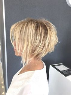 20 short bob hairstyles for fine hair - madame hairstyles short hairstyle . - 20 short bob hairstyles for fine hair – Madame hairstyles hairstyles hairst - Inverted Bob Hairstyles, Short Bob Haircuts, Haircut Short, Haircut Bob, Stacked Bob Haircuts, Bob Haircut Back View, Short Undercut, Haircut Medium, Summer Haircuts